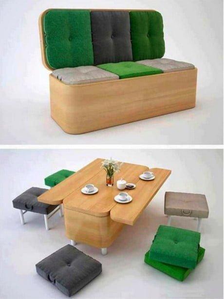 """Những thiết kế nội thất hoàn hảo dành cho không gian """"Chật""""2"""