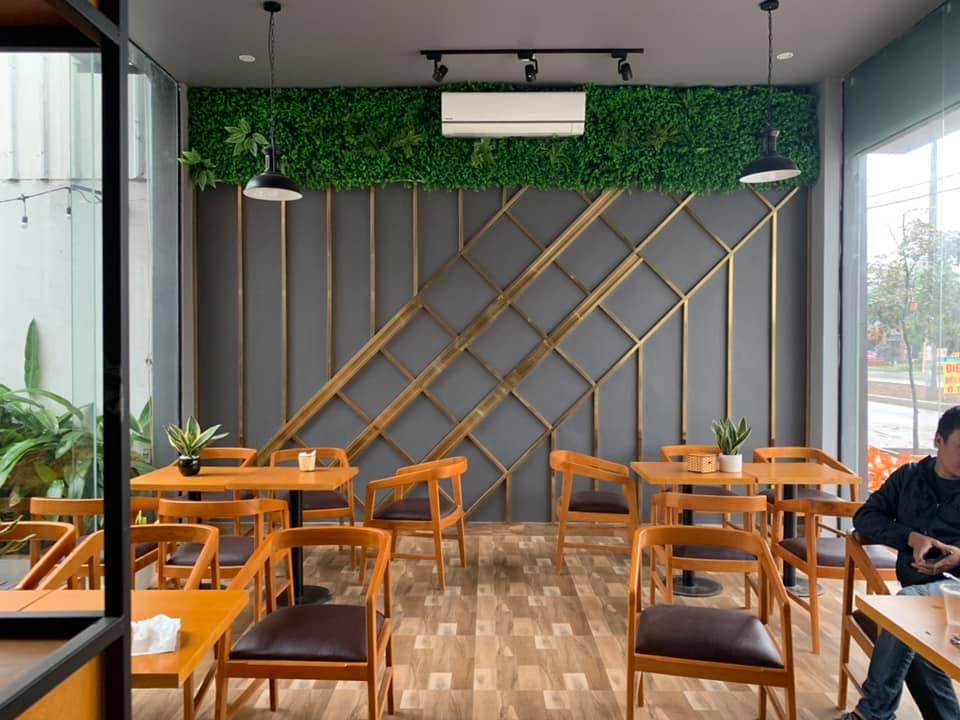 Mãn nhãn với thiết kế nội thất quán trà sữa Tocotoco Hà Nam
