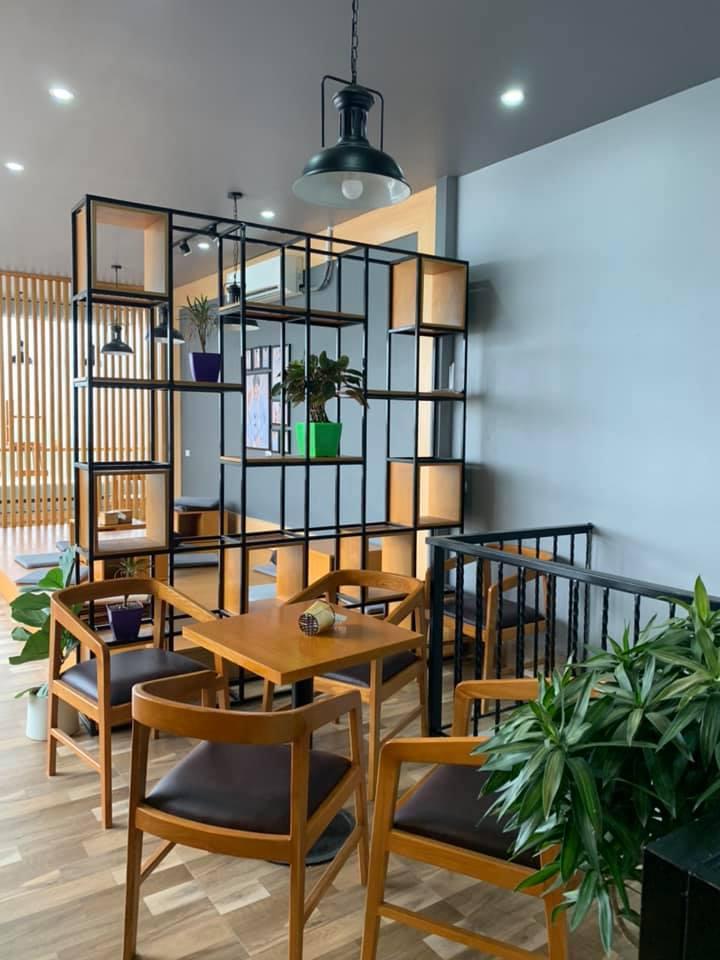Mãn nhãn với thiết kế nội thất quán trà sữa Tocotoco Hà Nam6