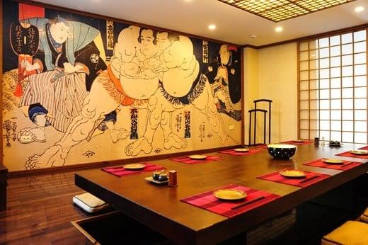 Lý do thiết kế nội thất nhà hàng Nhật Bản được ưa chuộng hiện nay6