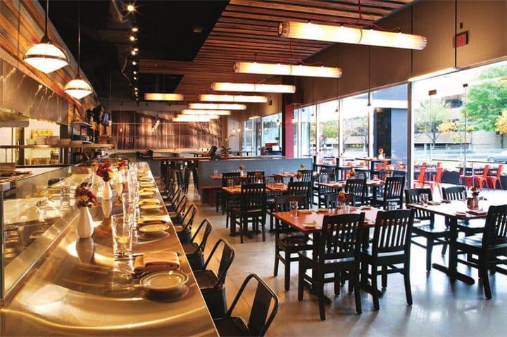 Lý do thiết kế nội thất nhà hàng Nhật Bản được ưa chuộng hiện nay2