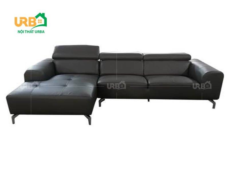 mẫu ghế sofa đẹp màu đen