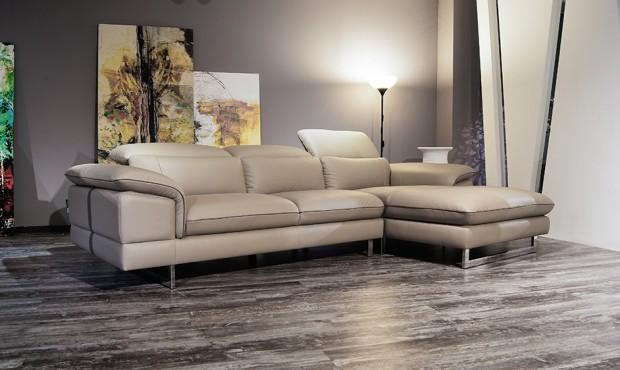 Bộ sofa da phòng khách cỡ lớn tại nội thất Urba