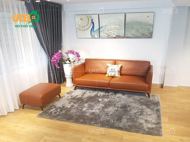 Sofa văng da hiện đại 0007