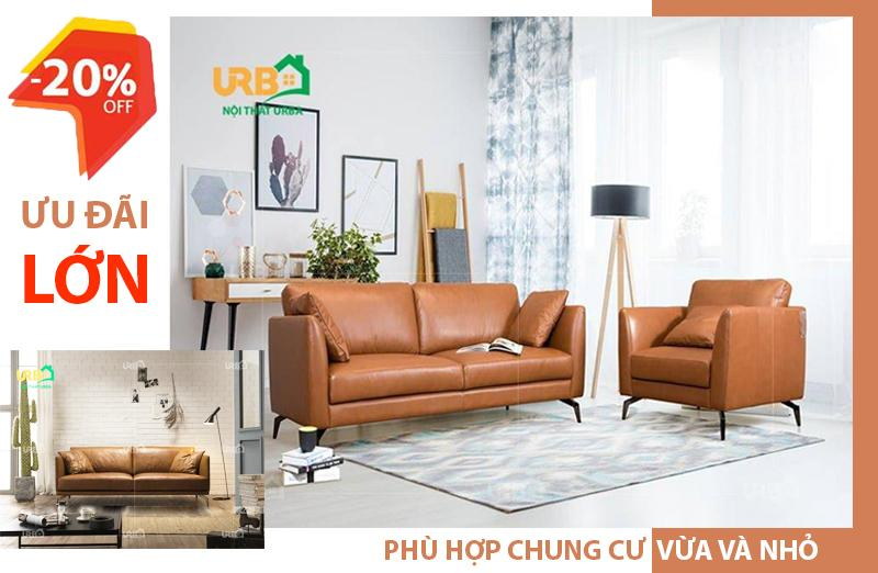 ưu đãi khi mua ghế sofa hiện đại tại Urba