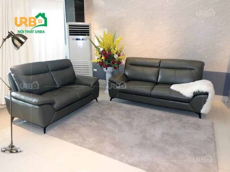 sofa da thật nhập khẩu chất lượng từ nước ngoài