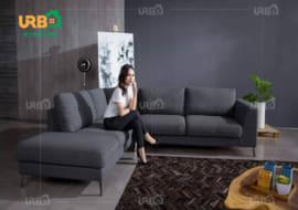 sofa góc nỉ mã 4059