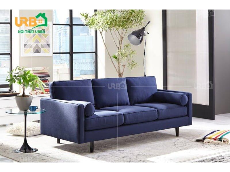 Ghế sofa bọc nhung mang phong cách mới cho phòng khách. 3