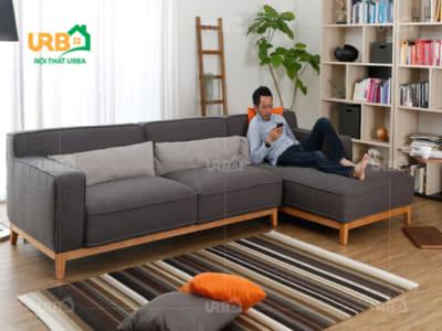 sofa góc nỉ mã 4047