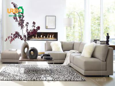 sofa góc nỉ mã 4050