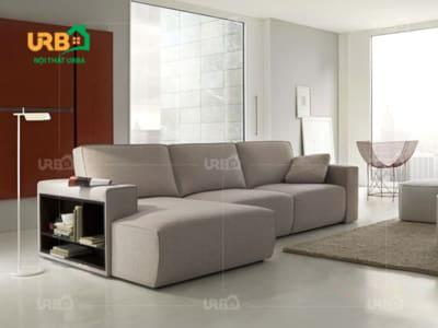 sofa góc nỉ mã 4056