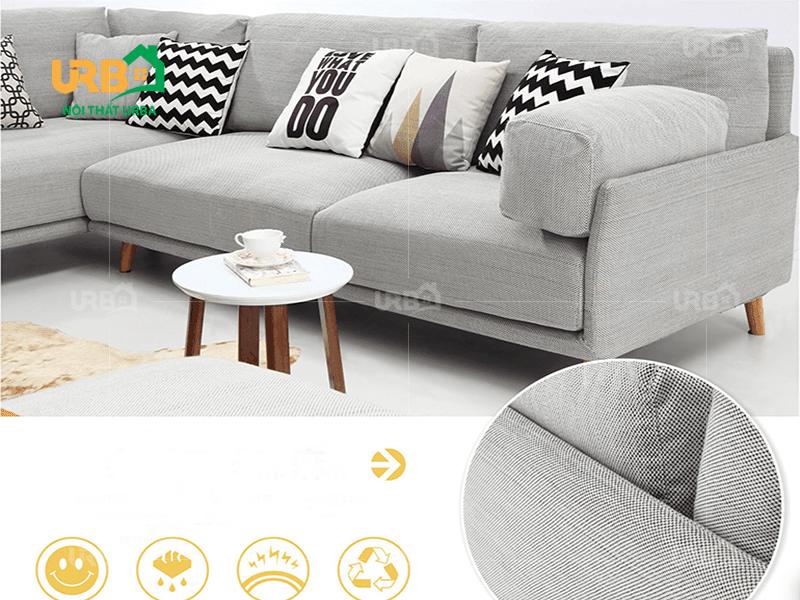 Bật mí cách vệ sinh sofa vải nỉ hiệu quả nhất 2