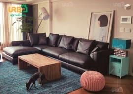 Điểm nổi bật của ghế sofa da phòng khách