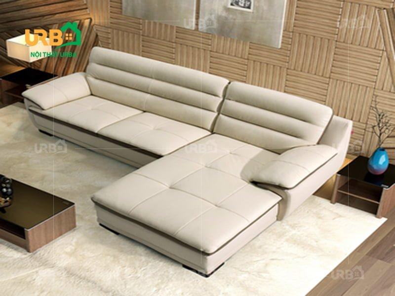 Ghế sofa bọc da thật có bị bong tróc không?
