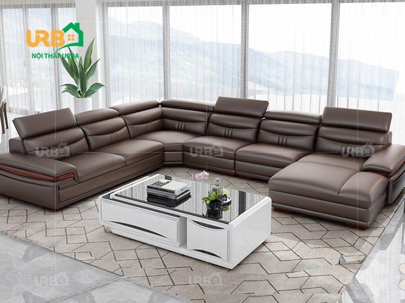Ghế sofa góc cao cấp mã 8018