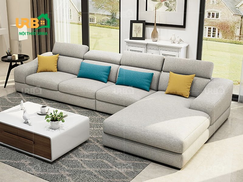 Sofa góc với giá thành hợp lý, dịch vụ tuyệt vời.