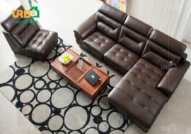 Chọn mua sofa phòng khách tại thương hiệu lớn.