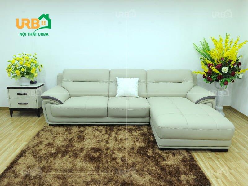 Nên sử dụng sofa da thật hay giả da cho phòng khách