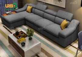 Nên sử dụng sofa vải bố hay sofa vải nhung cho phòng khách? 2