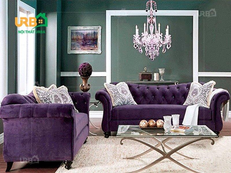Nên sử dụng sofa vải bố hay sofa vải nhung cho phòng khách? 5