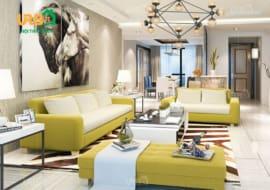 Nên sử dụng sofa vải bố hay sofa vải nhung cho phòng khách? 6