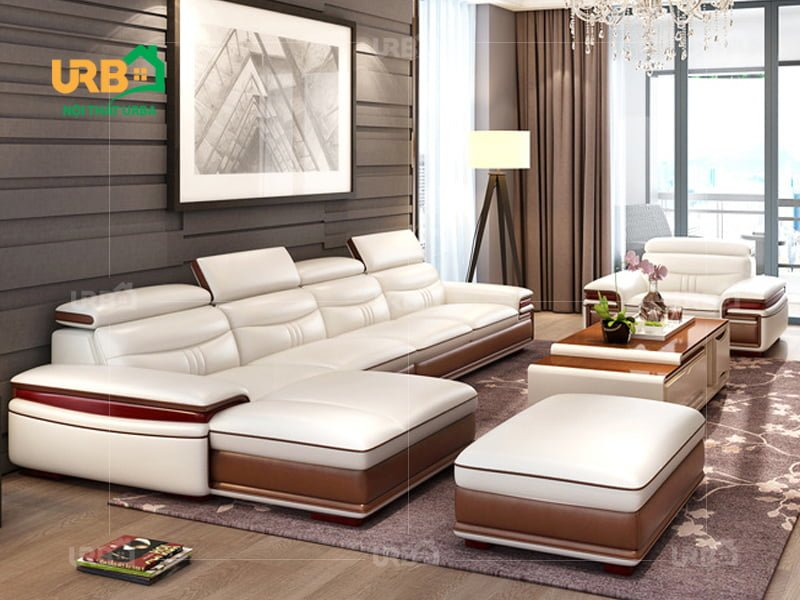 Sofa da cao cấp mã 5018