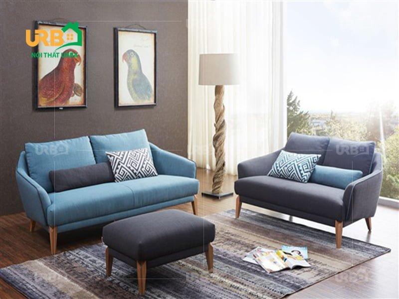 Sofa văng vải nỉ mã 019