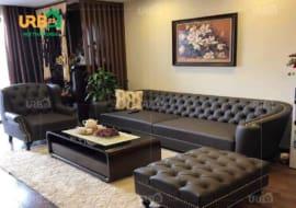Sofa văng phòng khách – Mẫu sofa được yêu thích nhất