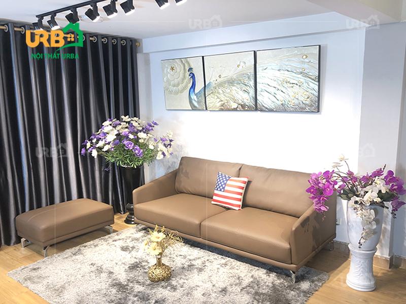 sofa văng da 0045