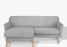 sofa phòng khách màu xám