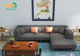 Sofa bọc vải - sự lựa chọn hoàn hảo cho phòng khách