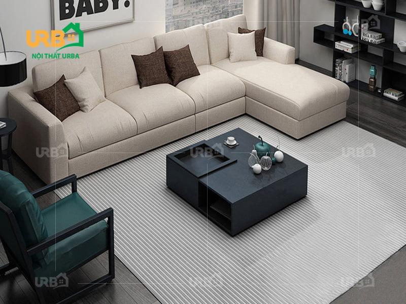 Sofa góc vải nỉ mã 4003