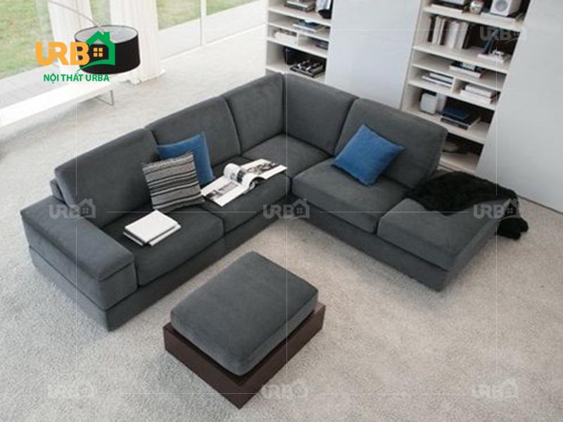 Sofa góc vải nỉ mã 4052