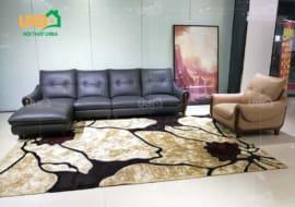 Chọn sofa cao cấp da hay nỉ cho căn hộ chung cư?