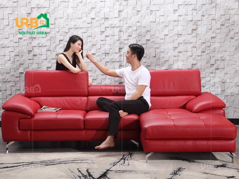 cách nhận biết ghế sofa văng da bò thật