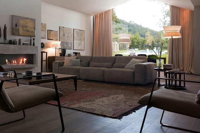Bàn ghế Sofa phòng khách và kích thước chuẩn nhất hiện nay4
