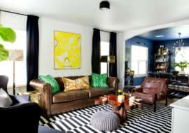 mẫu ghế sofa đẹp biến tấu trong phòng khách