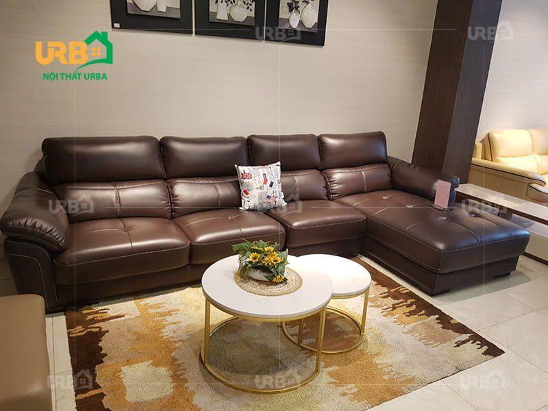 Nên mua ghế sofa góc hay bộ cho phòng khách rộng? 2