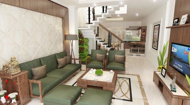 Gợi ý 15 mẫu ghế sofa nhỏ cho không gian phòng khách nhà ống2