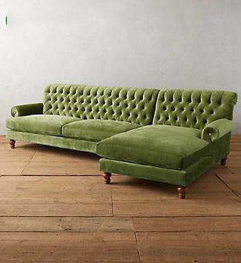 Bộ sưu tập ghế sofa đẹp màu xanh tươi mát 9