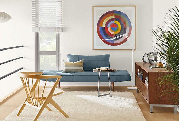 Những kiểu ghế sofa nhỏ, cá tính cho phòng khách nhỏ 2