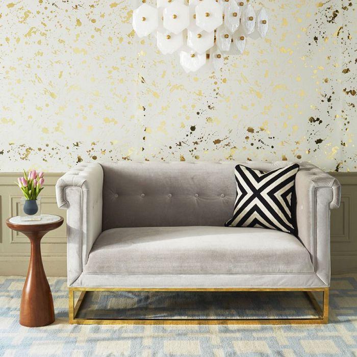 ghế sofa nhỏ phong cách hoàng gia