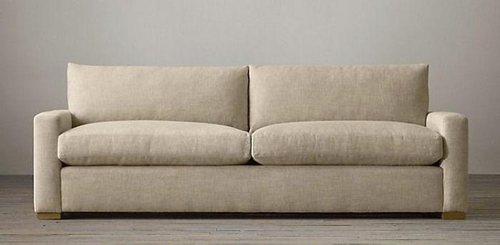 ghế sofa nhỏ màu trung tính