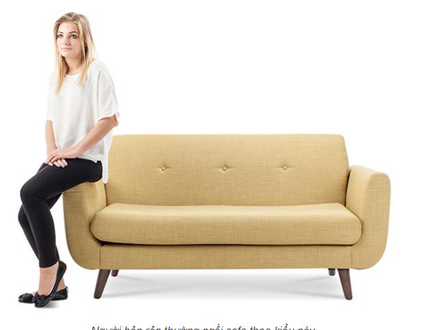 Cách ngồi ghế sofa nói gì về bạn! 4