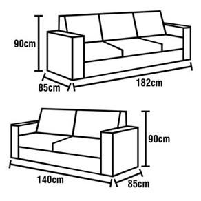 Ghế sofa và kích thước chuẩn theo từng kiểu dáng 2