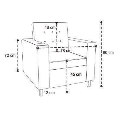 Ghế sofa và kích thước chuẩn theo từng kiểu dáng 1
