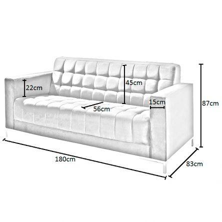 Ghế sofa và kích thước chuẩn theo từng kiểu dáng 3