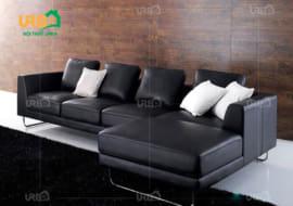 Chọn ghế sofa màu đen cho phòng khách có nên hay không?