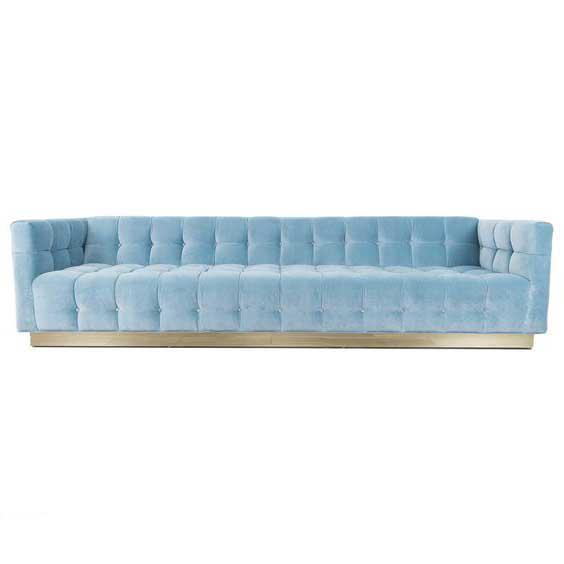 Bộ sưu tập ghế sofa đẹp màu xanh tươi mát 4