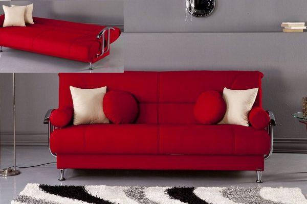 sofa phòng khách giá rẻ với tiện ích giường nằm